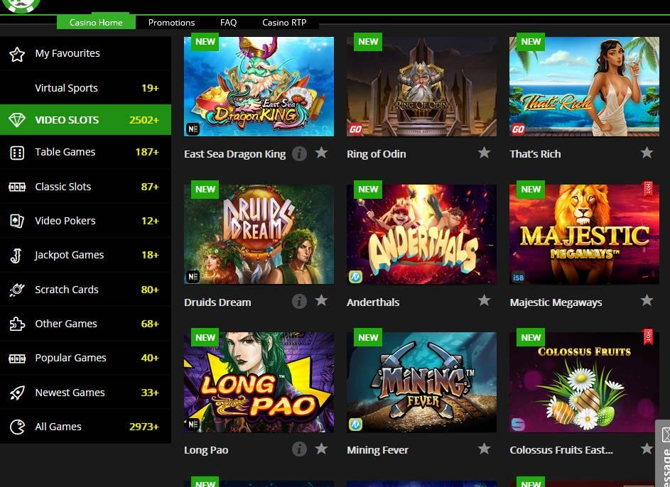 Glücksspielaktivitäten